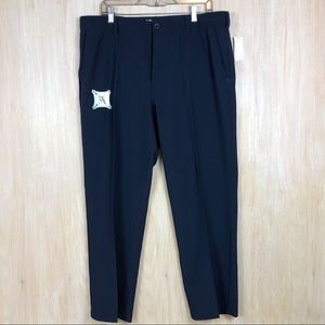NWT IZOD Navy Golf Swing Flex Trouser Men's Pants